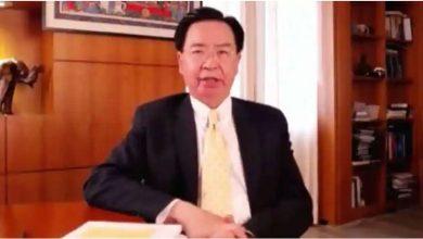 Photo of โจเซฟวูรัฐมนตรีต่างประเทศไต้หวันแถลงการณ์ครั้งใหญ่เกี่ยวกับลัทธิเผด็จการของจีน |  รัฐมนตรีว่าการกระทรวงการต่างประเทศไต้หวันแถลง