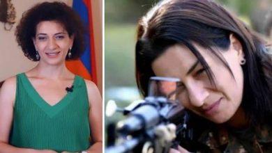 Photo of Anna Hakobyan ภรรยาของ Armenias PM เริ่มฝึกการต่อสู้ท่ามกลางความขัดแย้งกับอาเซอร์ไบจาน |  ภริยานายกรัฐมนตรีอาร์เมเนียยกปืนเผชิญหน้าอาเซอร์ไบจาน