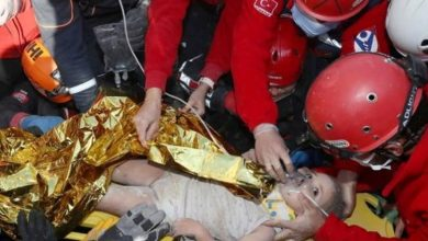 Photo of ตุรกี: หนูน้อย 3 ขวบช่วยชีวิต 65 ชั่วโมงหลังแผ่นดินไหว |  หลังจาก 65 ชั่วโมงในตุรกีเด็กหญิงก็ออกมาจากซากปรักหักพังผู้คนกล่าวว่า – 'ปาฏิหาริย์'