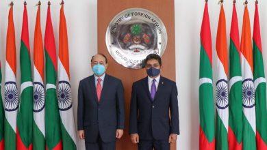 Photo of Harsh Shringla รัฐมนตรีต่างประเทศอินเดียถึงมัลดีฟส์เพื่อลงนาม MOU และหารือเกี่ยวกับวิกฤตโควิด |  รัฐมนตรีต่างประเทศอินเดียเดินทางถึงมัลดีฟส์และจะมอบเงินจำนวน 740 ล้านรูปีสำหรับโครงการนี้