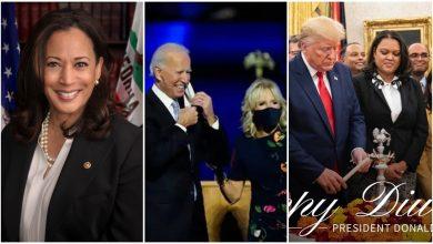 Photo of การเฉลิมฉลอง Diwali 2020: Joe Biden, Kamala Harris, Donald trump ขยายความปรารถนาของ Diwali |  Trump, Biden, Kamala Harris และ Pompio ทักทาย Diwali