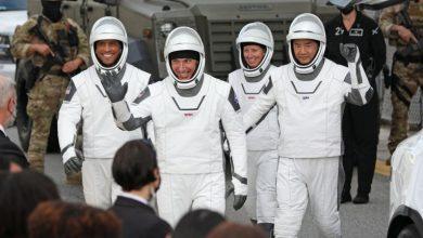 Photo of SpaceX ส่งนักบินอวกาศ 4 คนไปที่สถานีอวกาศนานาชาติ