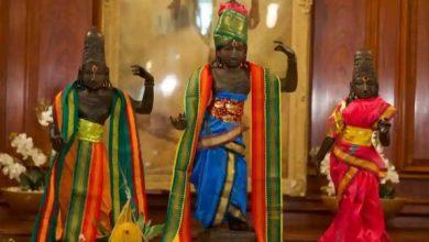 Photo of อังกฤษส่งคืนรูปแกะสลักลอร์ดรามนางสีดาและพระลักษมีที่ถูกขโมยไปยังอินเดีย |  รูปปั้นของ Shri Ram, Lakshmana และแม่สีดาถูกขโมยไปเมื่อ 20 ปีก่อนซึ่งตอนนี้มาถึงอินเดียจากอังกฤษ