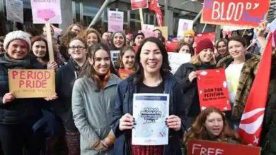 Photo of สกอตแลนด์กลายเป็นประเทศแรกในโลกที่ให้บริการผลิตภัณฑ์ฟรีสำหรับทุกคน |  สกอตแลนด์กลายเป็นประเทศแรกในโลกที่แจกแผ่นอนามัยผู้หญิงฟรี