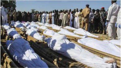 Photo of การโจมตีที่น่าสยดสยองกล่าวโทษกลุ่มญิฮาด Boko Haram อ้างว่า 110 ชีวิตในไนจีเรีย |  กลุ่มญิฮาดของ Boko Haram สังหารเกษตรกรที่ยากจนในไนจีเรียไป 110 คน