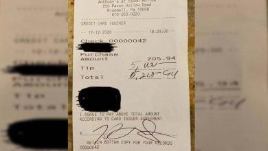Photo of ลูกค้าให้ทิป lakhs ในบิล 15,000 บิลกลายเป็นไวรัล