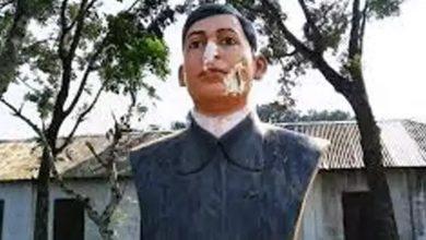 Photo of 3 ถูกจับข้อหาทำลายรูปปั้นบากาจาตินในบังกลาเทศ |  บังกลาเทศ: รูปปั้นนักสู้เพื่ออิสรภาพ Bagha Jatin ถูกทุบหลังจาก Bangabandhu ถูกจับ 3 คน