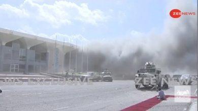 Photo of คณะรัฐมนตรีชุดใหม่ระเบิดก่อนลงจอดที่สนามบินอาดานของเยเมน