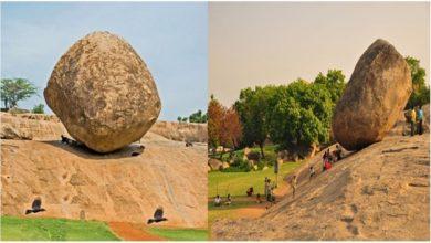 Photo of กฤษณะบัตเตอร์บอลในภาษาทมิฬนาฑูเป็นหินที่ลึกลับที่สุดในอินเดีย |  หินลึกลับมากตั้งอยู่ในรัฐทมิฬนาฑูประเทศอินเดียซึ่งแม้แต่วิทยาศาสตร์ก็ไม่สามารถสั่นคลอนได้