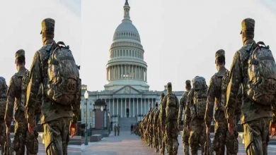 Photo of ชายชาวเวอร์จิเนียถูกจับที่ด่านวอชิงตัน ดี.ซี. กล่าวว่าเป็น 'ความผิดพลาดโดยสุจริต', ทหาร 25,000 คนมาเพื่อความปลอดภัย |  วอชิงตัน ดี.ซี. : การรักษาความปลอดภัยละเมิดก่อนที่ Biden จะสาบาน!  คนหนึ่งถูกจับใกล้กับ Capitol Hill