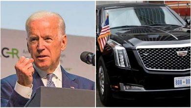 Photo of โจไบเดนขี่;  รถที่ปลอดภัยที่สุดในโลกและเรียกว่า The Beast ที่นี่มีคุณสมบัติพิเศษ |  Joe Biden ได้รับ Beast เป็นประธานรู้ว่าทำไมรถคันนี้ถึงพิเศษ