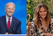 Photo of นางแบบคนนี้กลายเป็นคนดังคนเดียวที่ติดตาม Twitter โดยบัญชีทางการของ Bidens |  Biden ติดตามบุคคลทั้งหมด 13 คนในบัญชี Twitter อย่างเป็นทางการ POTUS รวมถึงโมเดล Teigen ตามคำขอ