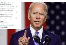 Photo of Joe Biden ไม่ใช่เทรนด์ Twitter ของประธานาธิบดีของฉันในอินเดียรู้ว่ามันเริ่มต้นอย่างไร  หลังจากทวีตนี้โจไบเดนไม่ใช่ประธานาธิบดีของฉัน