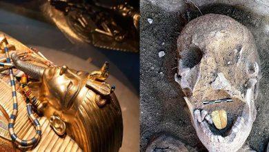 Photo of ข่าวกระแสอียิปต์นักโบราณคดีพบมัมมี่ลิ้นทองคำล่าสุดในอียิปต์ |  มัมมี่ที่มีลิ้นสีทองที่พบในอียิปต์ดูเหมือนเป็นการคาดเดา