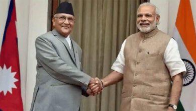 Photo of นายกรัฐมนตรีเนปาลกล่าวว่าปัญหาเขตแดนกับอินเดียจะได้รับการแก้ไขผ่านการเจรจาทางการทูต |  นายกรัฐมนตรีเนปาลโอลีกล่าวในประเด็นข้อพิพาทเรื่องพรมแดน 'ความเข้าใจผิดเพิ่มขึ้นกับอินเดียจะหาทางแก้ไขผ่านการเจรจาทางการทูต