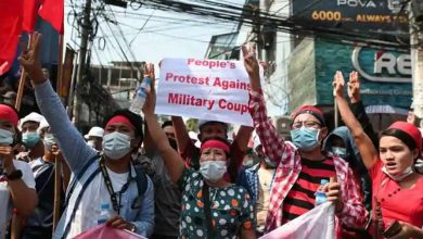 Photo of ประท้วงการปกครองของกองทัพพม่าอองซานซูจี |  การประท้วงต่อต้านการปกครองของทหารในเมียนมาผู้คนต่างเรียกร้องสิ่งนี้