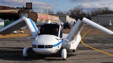 Photo of รถบินคันแรกเคลียร์อย่างเป็นทางการโดย FAA สามารถเดินทางได้ 100 ไมล์ต่อชั่วโมงที่ 10k ฟุต |  Flying Car ได้รับการอนุมัติในอเมริกาพัดลมขนาด 27 ฟุต แต่จะจอดรถที่บ้าน
