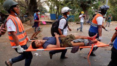 Photo of Myanmar Coup: กองทัพเมียนมาร์เปิดฉากยิงผู้ประท้วงเสียชีวิต 2 คน |