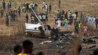 Photo of เครื่องบินทหารตกใกล้สนามบินในไนจีเรียมีผู้เสียชีวิต 7 คน  เครื่องบินกำลังปฏิบัติภารกิจพิเศษนี้