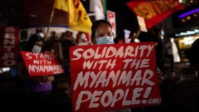 Photo of UN ประณามการปราบปรามพม่าสถานทูตอินเดียออกแถลงการณ์ |  UN โกรธแค้นผู้ประท้วง 18 คนในเมียนมาร์อินเดียกล่าวว่า 'ใช้ความยับยั้งชั่งใจแก้ไขปัญหาอย่างสันติ'