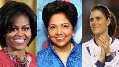 Photo of ผู้หญิงทั้ง 9 คนนี้ ได้แก่ อินทิรานูยี, มิเชลโอบามา, เมียหืมได้รับเลือกให้เข้าสู่หอเกียรติยศ