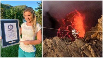 Photo of Karina Oliani สร้างสถิติกินเนสส์ข้ามทะเลสาบลาวาภูเขาไฟ 1187 ° C ชมวิดีโอข่าววิทยาศาสตร์ |  Karina Oliani: ผู้หญิงคนนี้ทำสถิติกินเนสส์หลังจากข้ามทะเลสาบลาวาเดือดที่อุณหภูมิ 1187 ° C ดูวิดีโอจะทำให้หัวใจของเธอสั่น