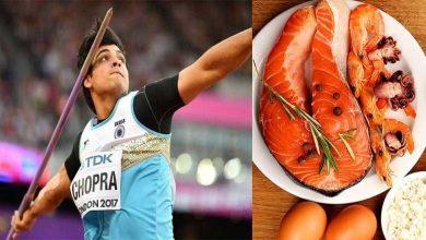 Photo of ทำไมและเมื่อนักกีฬาชาวอินเดีย neeraj Chopra กลายเป็นคนที่ไม่ใช่มังสวิรัติ รู้แผนภูมิอาหาร neeraj Chopra และตัวอย่างการออกกำลังกาย  Neeraj Chopra ไดเอทและการออกกำลังกาย