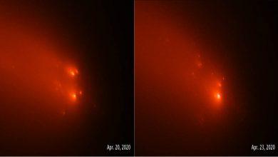 Photo of ดาวหางกล้องโทรทรรศน์อวกาศฮับเบิลของ NASA ATLAS    ดาวหางดวงนี้เข้าใกล้ดวงอาทิตย์ถึง 23 ล้านไมล์ นักวิทยาศาสตร์อ้างสิทธิ์ครั้งใหญ่